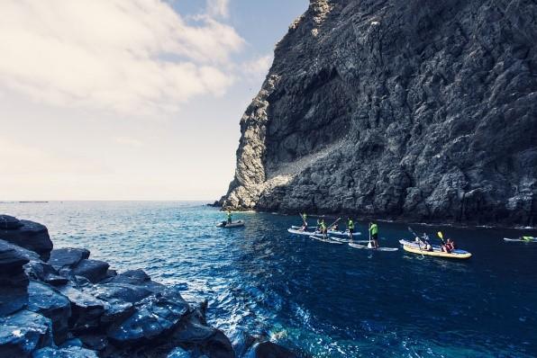Kayak in Tenerife
