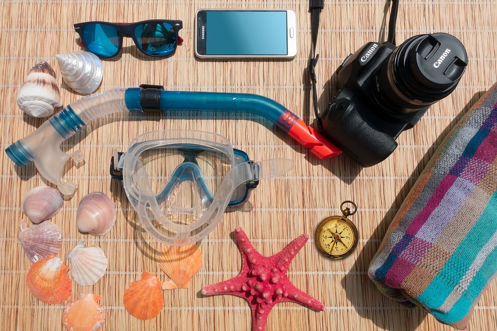 material necesario para snorkel