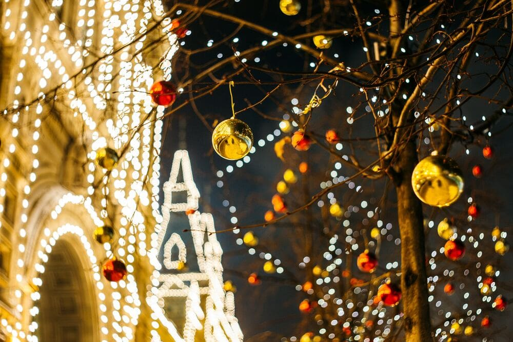Luces navideñas tenerife villa mandi