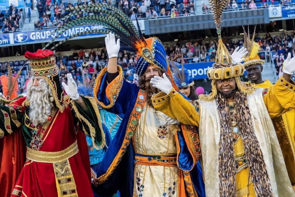 cabalgata de reyes de santa cruz villa mandi