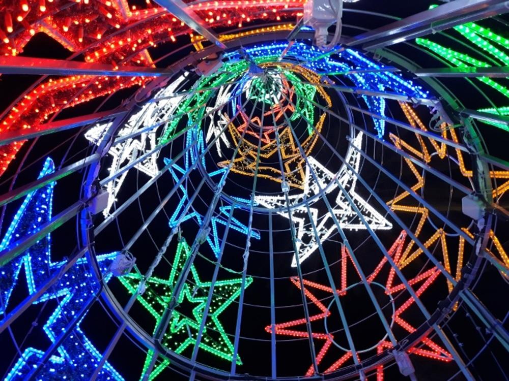 christmas in tenerife christmas lights