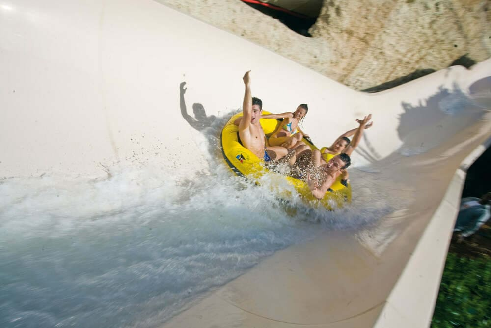 Giving away experiences, Siam park