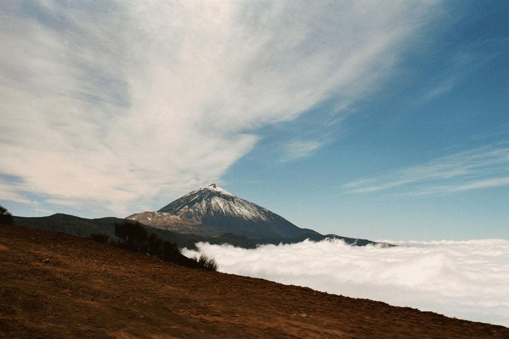 weather in Tenerife Villa Mandi Mar de nubes