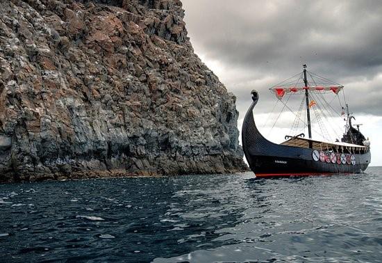 barco en tenerife Villa Mandi Vikingo